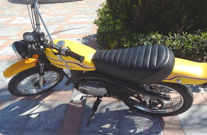 Motos: Moto Kawasaki G5, 100 cc., Año 1972, 5 marchas, Clásica, Totalmente revisada, Moto procedente de USA - Foto 11 - 42354881