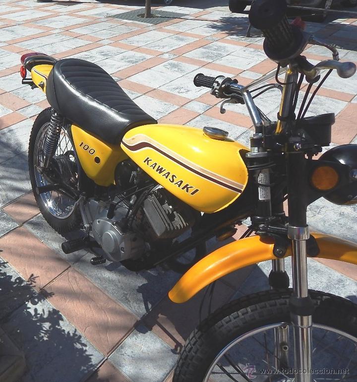 Motos: Moto Kawasaki G5, 100 cc., Año 1972, 5 marchas, Clásica, Totalmente revisada, Moto procedente de USA - Foto 15 - 42354881