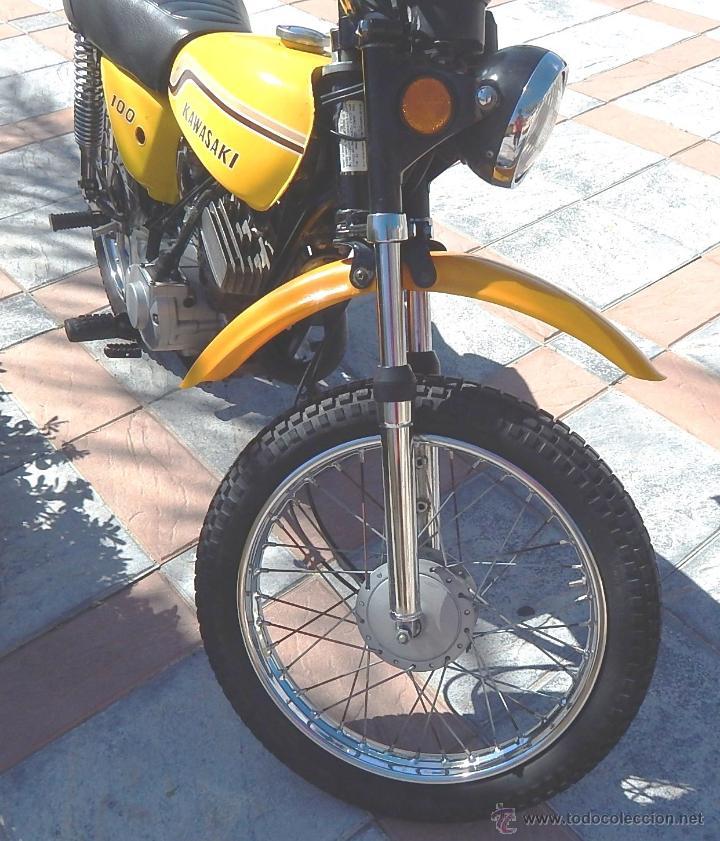 Motos: Moto Kawasaki G5, 100 cc., Año 1972, 5 marchas, Clásica, Totalmente revisada, Moto procedente de USA - Foto 16 - 42354881