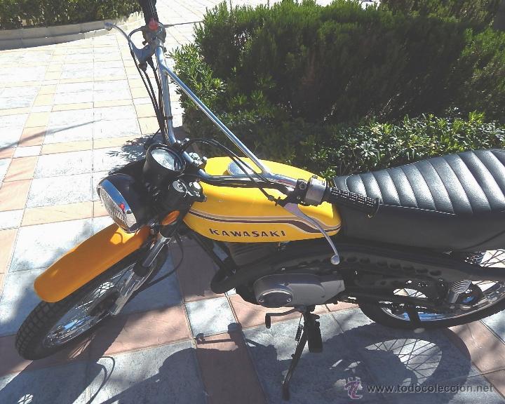 Motos: Moto Kawasaki G5, 100 cc., Año 1972, 5 marchas, Clásica, Totalmente revisada, Moto procedente de USA - Foto 17 - 42354881