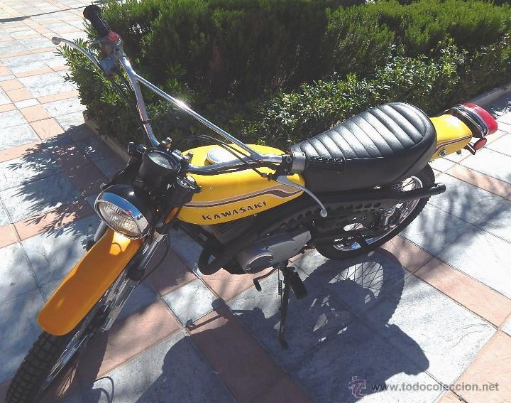 Motos: Moto Kawasaki G5, 100 cc., Año 1972, 5 marchas, Clásica, Totalmente revisada, Moto procedente de USA - Foto 18 - 42354881