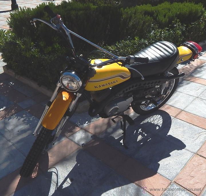 Motos: Moto Kawasaki G5, 100 cc., Año 1972, 5 marchas, Clásica, Totalmente revisada, Moto procedente de USA - Foto 35 - 42354881