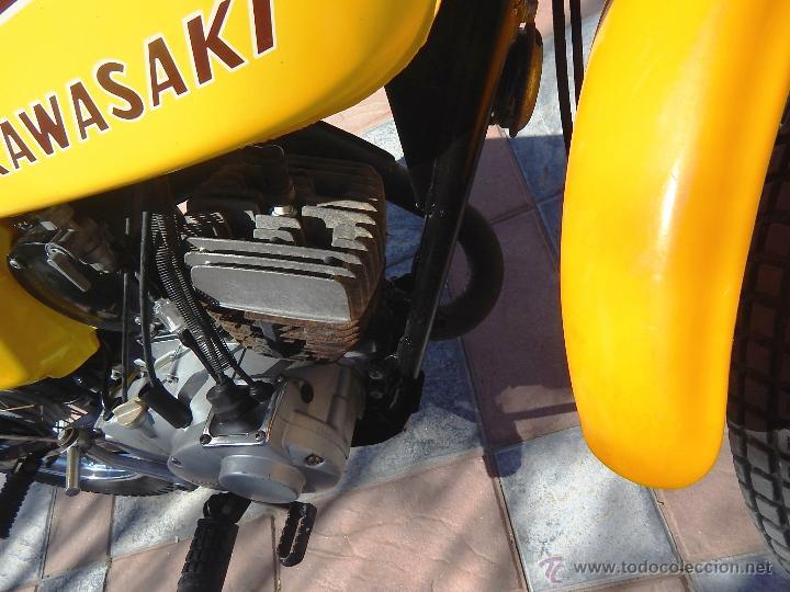 Motos: Moto Kawasaki G5, 100 cc., Año 1972, 5 marchas, Clásica, Totalmente revisada, Moto procedente de USA - Foto 40 - 42354881