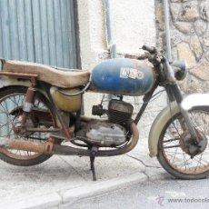 Motos: MOTOCICLETA BULTACO 155 EN ESTADO ORIGINAL. 153 CMS CUBICOS. 2 MODELO DE LA CASA BULTACO. AÑOS 60. Lote 151147193