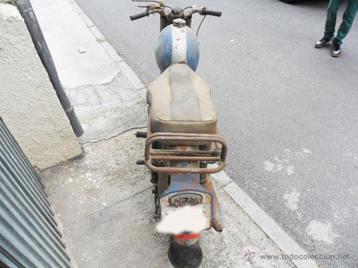 Motos: MOTOCICLETA BULTACO 155 EN ESTADO ORIGINAL. 153 CMS CUBICOS. 2 MODELO DE LA CASA BULTACO. AÑOS 60 - Foto 4 - 50053440