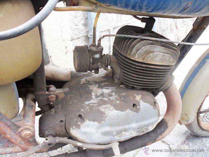 Motos: MOTOCICLETA BULTACO 155 EN ESTADO ORIGINAL. 153 CMS CUBICOS. 2 MODELO DE LA CASA BULTACO. AÑOS 60 - Foto 6 - 50053440