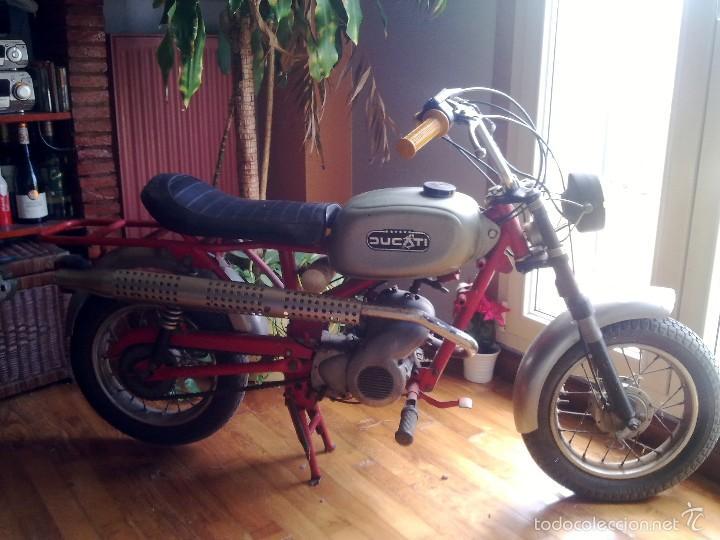 MINI MOTO DUCATI (Coches y Motocicletas - Motocicletas Clásicas (a partir 1.940))