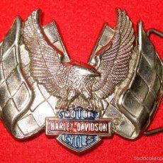 Motos: HEBILLA MOTOR HARLEY DAVIDSON. AÑO 1983. Lote 57346670