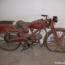 Motos: ANTIGUA MOTO GUZZI CAMBIO MARCHAS DE PALANCA PARA RESTAURAR . MATRICULA DE BARCELONA. Lote 82196804