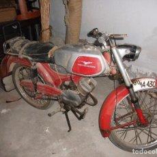 Motos: ANTIGUA MOTO GUZZI HISPANIA DINGO 75 CC, PARA RESTAURAR. Lote 82197648
