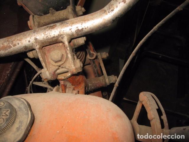 Motos: Antigua moto Guzzi color naranja cambio manual, para restaurar. - Foto 5 - 82758576