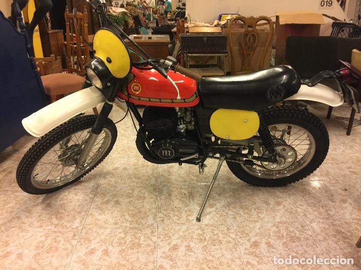 ESPECTACULAR MOTO MONTESA ENDURO 75. ABSOLUTAMENTE RESTAURADA Y PUESTA A PUNTO. UNA JOYA. (Coches y Motocicletas - Motocicletas Clásicas (a partir 1.940))