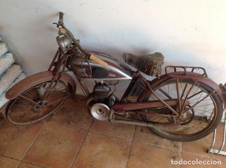 RARA TERROT ORIGINAL A RESTAURAR (Coches y Motocicletas - Motocicletas Clásicas (a partir 1.940))