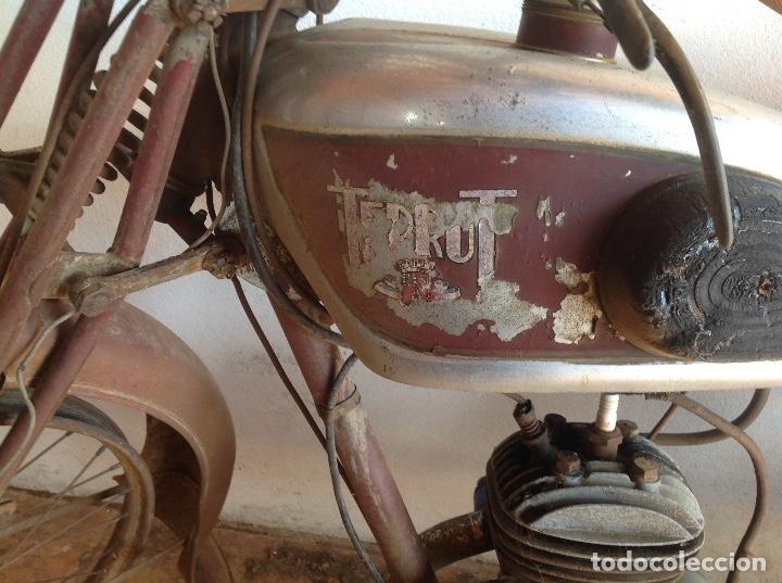 Motos: Rara terrot original a restaurar - Foto 2 - 99204863