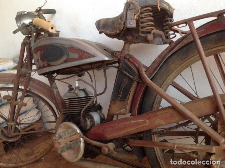 Motos: Rara terrot original a restaurar - Foto 5 - 99204863