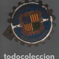 Motos: VIEJA CHAPA O PLACA DE RADIADOR DE COCHE - AUTOMOBIL CLUB D' ANDORRA. Lote 104857619