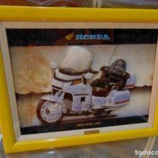 Motos: HONDA GOLDWING 1500 *****CUADRO EN RELIEVE 3D*****. Lote 110717295