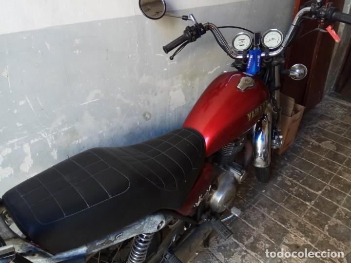 RECIEN REVISADA RUEDAS NUEVAS FILTROS CADENA Y PIÑONES TRANSMISION (Coches y Motocicletas - Motocicletas Clásicas (a partir 1.940))