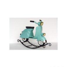 Motos: VESPA BALANCIN DECORACION TAMAÑO REAL ROCKING MOTORBIKE. Lote 118409715