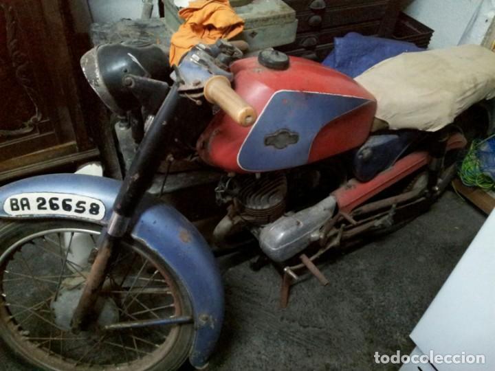 MOTOBIC SAETA DOCUMENTADA A RESTAURAR. (Coches y Motocicletas - Motocicletas Clásicas (a partir 1.940))