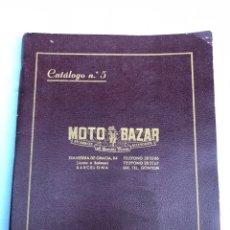 Motos: CATÁLOGO ILUSTRADO ACCESORIOS Y RECAMBIOS PARA MOTOCICLETA /VESPA/GUZZI/OSSA/LUBE/MONTESA/ISO/ 1956. Lote 139894944