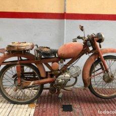 Motos: AÑO 1960 - MOTO GUZZI 65C - 75 CC - CON DOCUMENTACIÓN. Lote 147335890