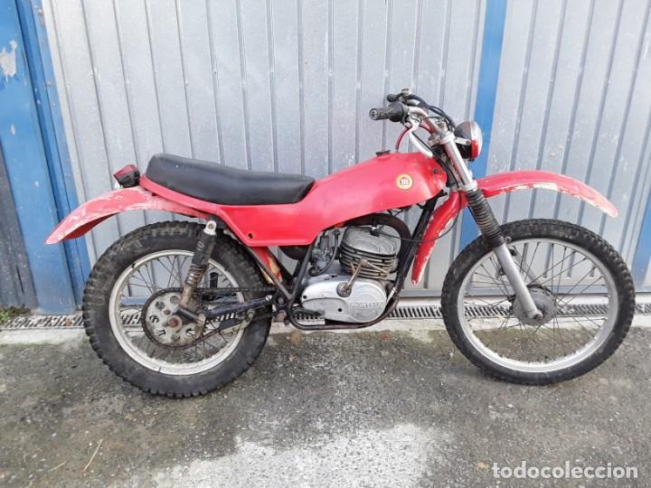 MONTESA 247 T, AÑOS 70, ARRANCA. (Coches y Motocicletas - Motocicletas Clásicas (a partir 1.940))