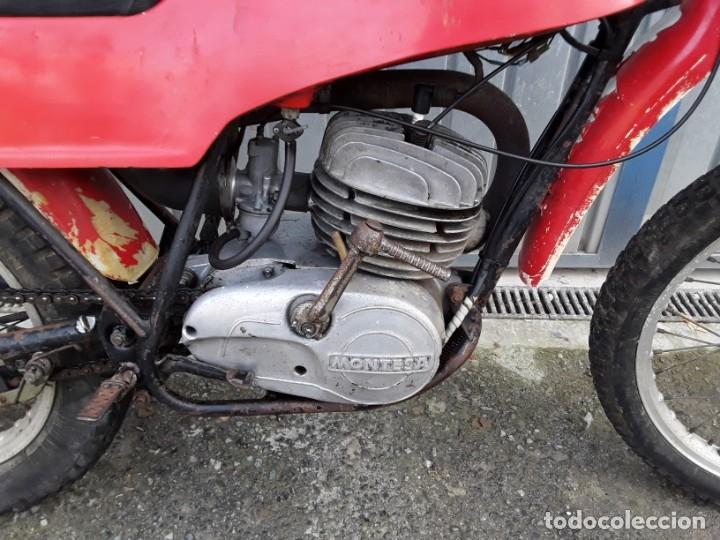Motos: Montesa 247 T, años 70, arranca. - Foto 2 - 146592554