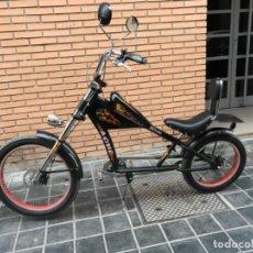 Motos: BICICLETA CHOPPER TIPO HARLEY DAVIDSON. Lote 151429046