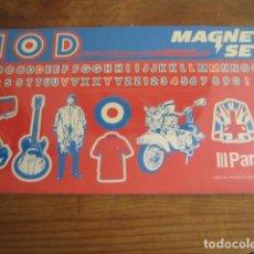 Motos: MOD MAGNET SET SCOOTER VESPA LAMBRETTA 2001, PRECINTADO!. Lote 151543362