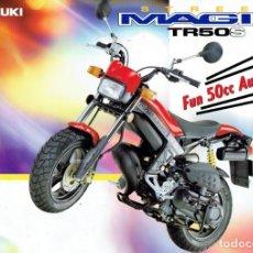 Motos: MOTO-CICLOMOTOR SUZUKI MAGIC TR50S STREET.. Lote 151636242