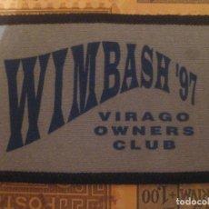 Motos: PARCHE YAMAHA VIRAGO WIMBASH 97 CONCETRACION OWERS CLUB SIN USO . Lote 151651066