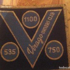 Motos: PARCHE YAMAHA VIRAGO 535 750 1100 CLUB 97 CONCETRACION OWERS CLUB SIN USO. Lote 151651370