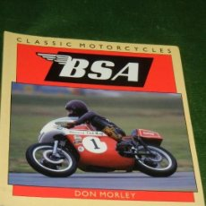 Motos: CLASSIC MOTORCYCLES BSA - DON MORLEY 1997. Lote 152299646