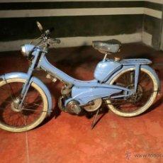 Motos: MOTOCICLETA CLÁSICA MOBYLETTE MOTOBECANE ,AÑOS 60,ENVÍO X CUENTA COMPRADOR NO TIENE DOCUMENTACIÓN N. Lote 155528082