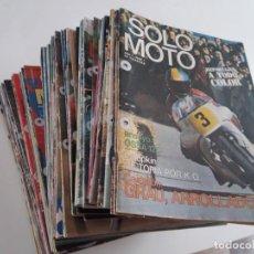 Motos - Lote de revistas Solo Moto, todas del 1 al 84. - 158370854