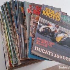 Motos - Lote de 90 revistas Solo Moto. Del 85 al 174. - 158377826