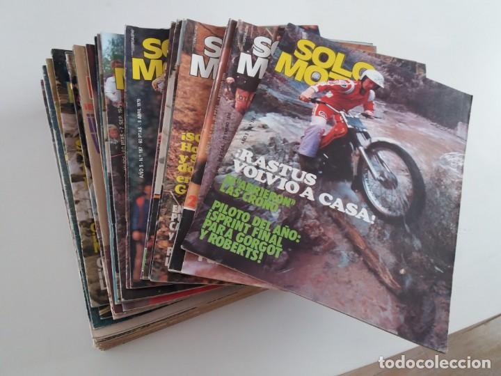 LOTE DE 40 REVISTAS SOLO MOTO. ENTRE EL 176 Y EL 348. (Coches y Motocicletas - Motocicletas Clásicas (a partir 1.940))