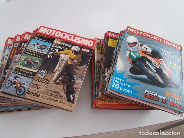 LOTE DE 63 REVISTAS MOTOCICLISMO. ENTRE EL 460 Y EL 857 (Coches y Motocicletas - Motocicletas Clásicas (a partir 1.940))