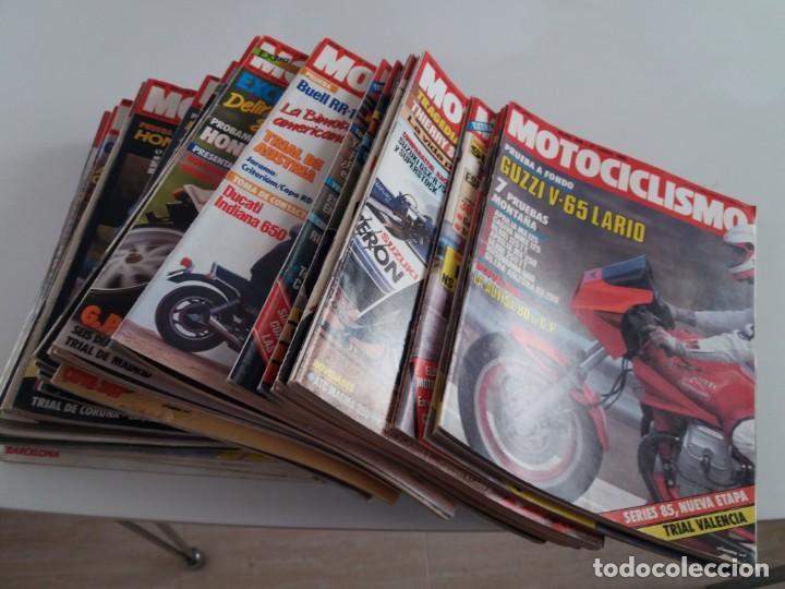 LOTE DE 41 REVISTAS MOTOCICLISMO . ENTRE EL 899 Y EL1094. (Coches y Motocicletas - Motocicletas Clásicas (a partir 1.940))