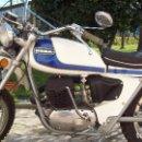 Motos: MOTO OSSA ENDURO E 74 350 CC RESTAURADA Y CON DOCUMENTACIÓN (1975). Lote 159641190