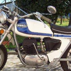 Motos: MOTO OSSA ENDURO E73 350 CC RESTAURADA Y CON DOCUMENTACIÓN (1975). Lote 159641190