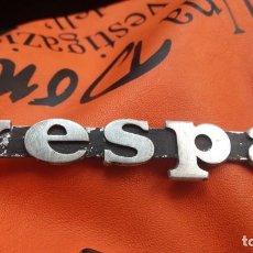 Motos: VESPA. Lote 167161916