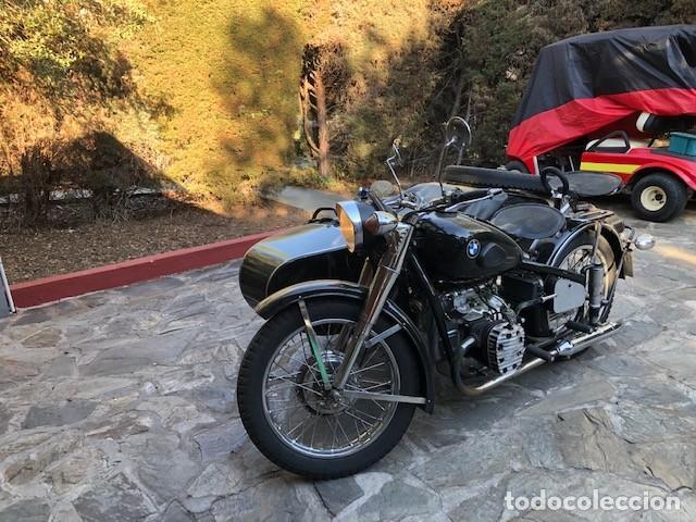 MOTO CHANG JIANG 750 - BMW R71 (750 CC) - CON SIDECAR - MODELO HISTÓRICO II GUERRA MUNDIAL - 1951 (Coches y Motocicletas - Motocicletas Clásicas (a partir 1.940))