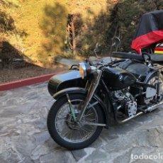 Motos: MOTO CHANG JIANG 750 - BMW R71 (750 CC) - CON SIDECAR - MODELO HISTÓRICO II GUERRA MUNDIAL - 1951. Lote 169115924