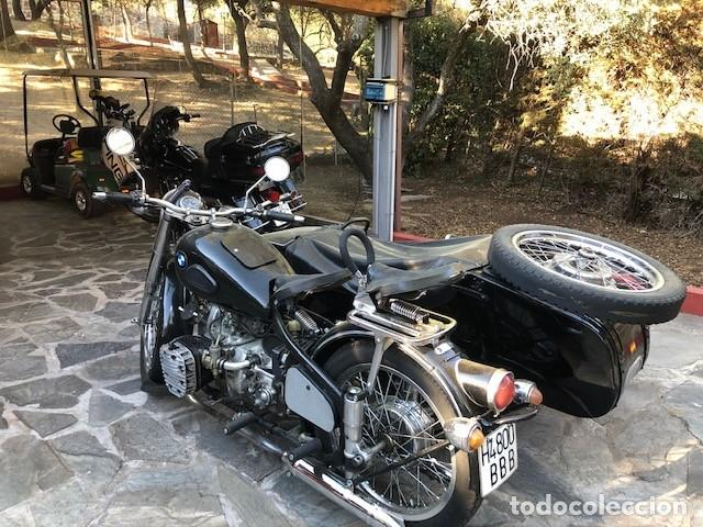 Motos: Moto Chang Jiang 750 - BMW R71 (750 CC) - Con sidecar - Modelo histórico II Guerra Mundial - 1951 - Foto 2 - 169115924