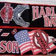 Motos: BUFANDA DE LA MARCA HARLEY DAVIDSON. Lote 174323587