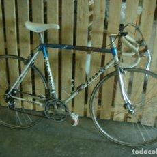 Motos: BICICLETA CARRETERA ZEUS CARRERAS LLANTAS AKRONT. Lote 174571484