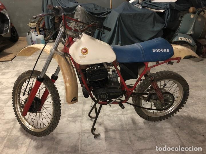 MOTO MONTESA ENDURO 75 ( SE VENDE LA MOTO SILLIN AZUL). (Coches y Motocicletas - Motocicletas Clásicas (a partir 1.940))