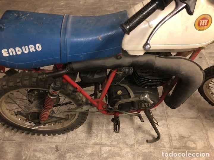Motos: Moto Montesa Enduro 75 ( Se vende la Moto sillin azul). - Foto 5 - 196038648